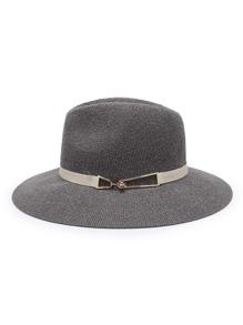 Straw Fedora Hat
