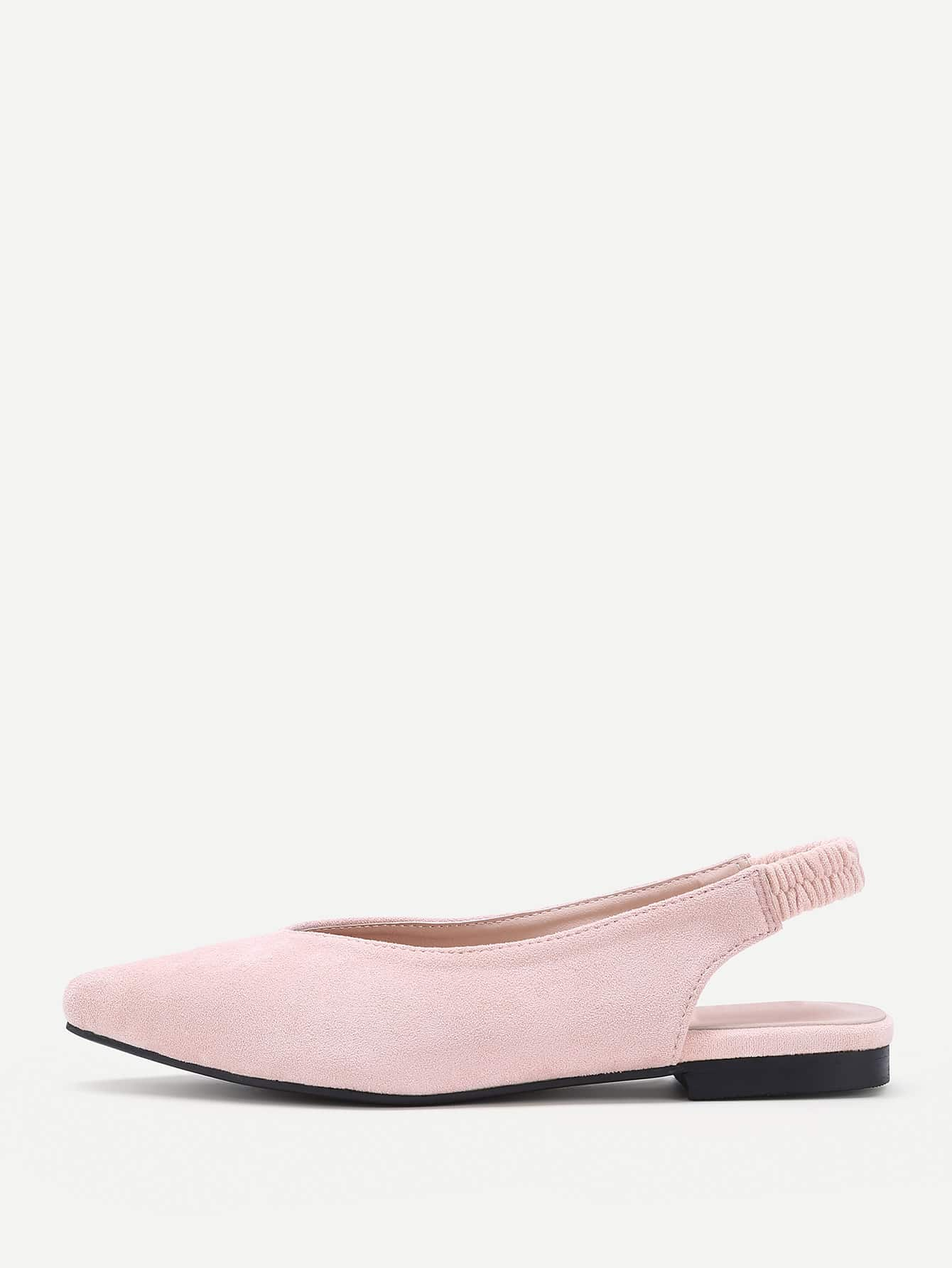 Image of Pointed Toe Slingback Flats