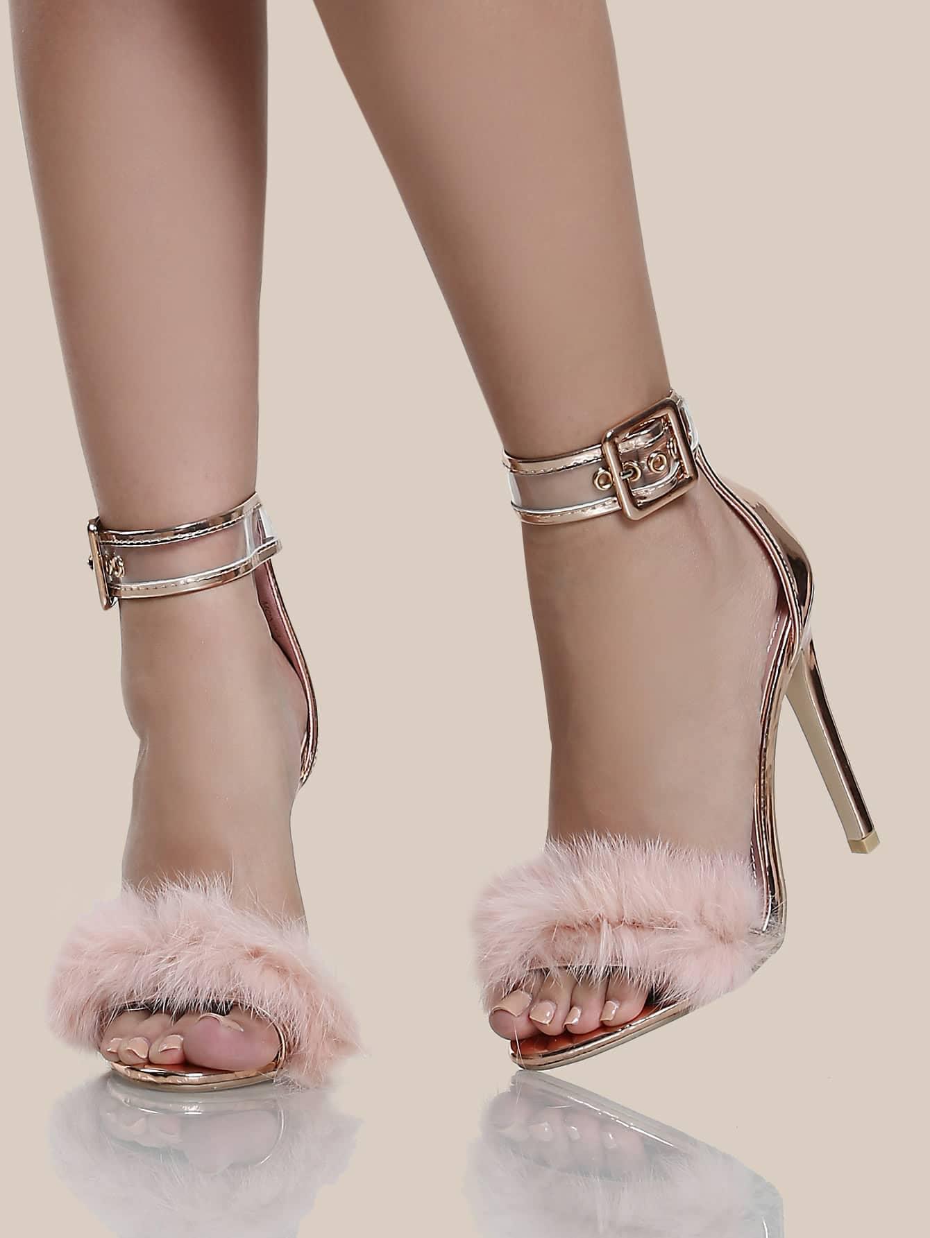 Strap Shoes Pink No Heels