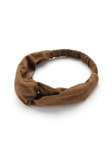 Twist Suede Headband