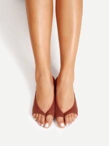 Open Toe Invisible Socks