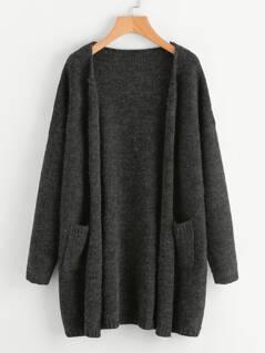Dual Pocket Sweater Coat