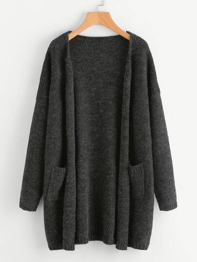 Dual Pocket Sweater Coat