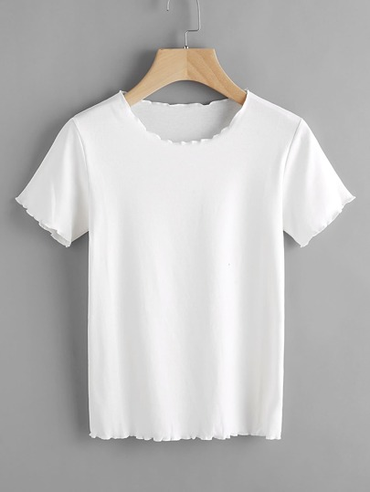 Lettuce Edge Trim Tee
