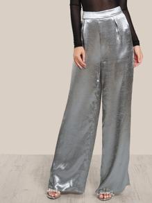 Pantalones con cremallera invisible