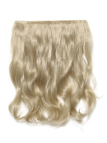 Light Golden Blonde Clip In Soft Wave Hair Extension