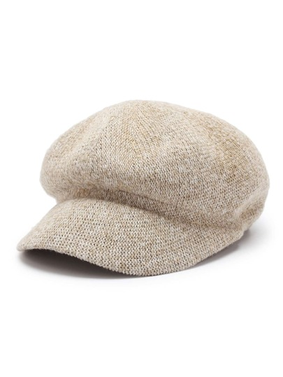 Knit Baker Boy Hat