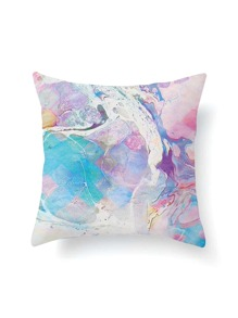 Watercolor Print Pillowcase Cover