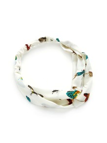 Insect Print Twist Headband