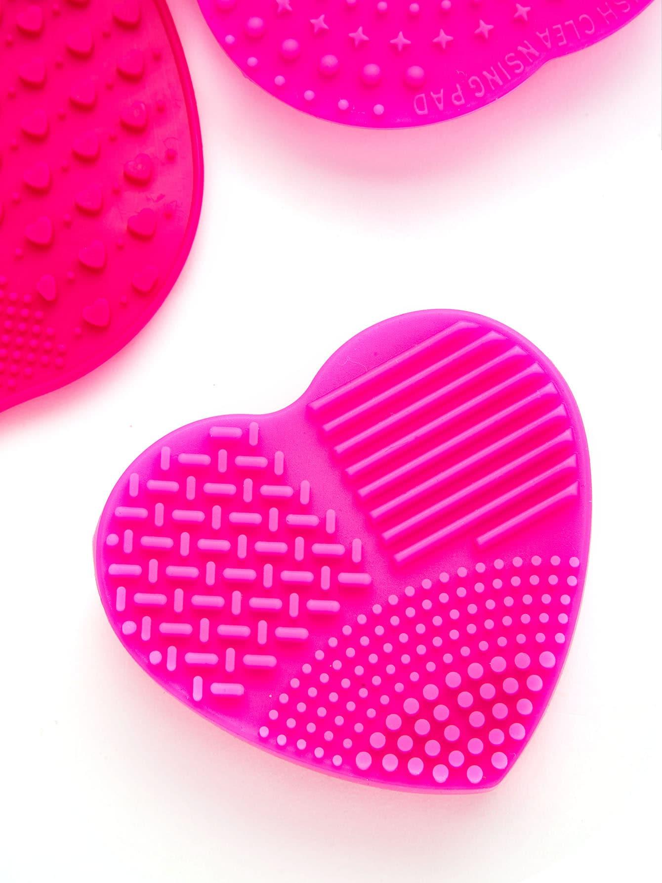 Makeup Brush Cleaning Palette 3pcs