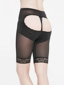 Open Hip Shapewear Shorts
