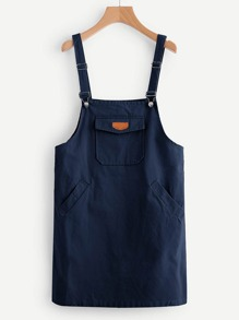 Vestito Pinafore Pocket Patch