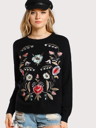 Jersey floral