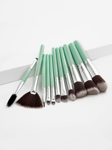 Two Tone Handle Makeup Brush 11pcs