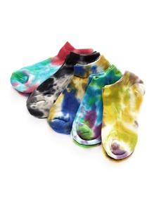 Tie Dye Socks 5pairs