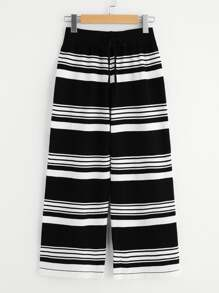 Horizon Stripe Sweater Knit Pants