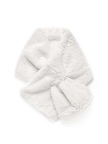 Модный шарф из искусственного меха