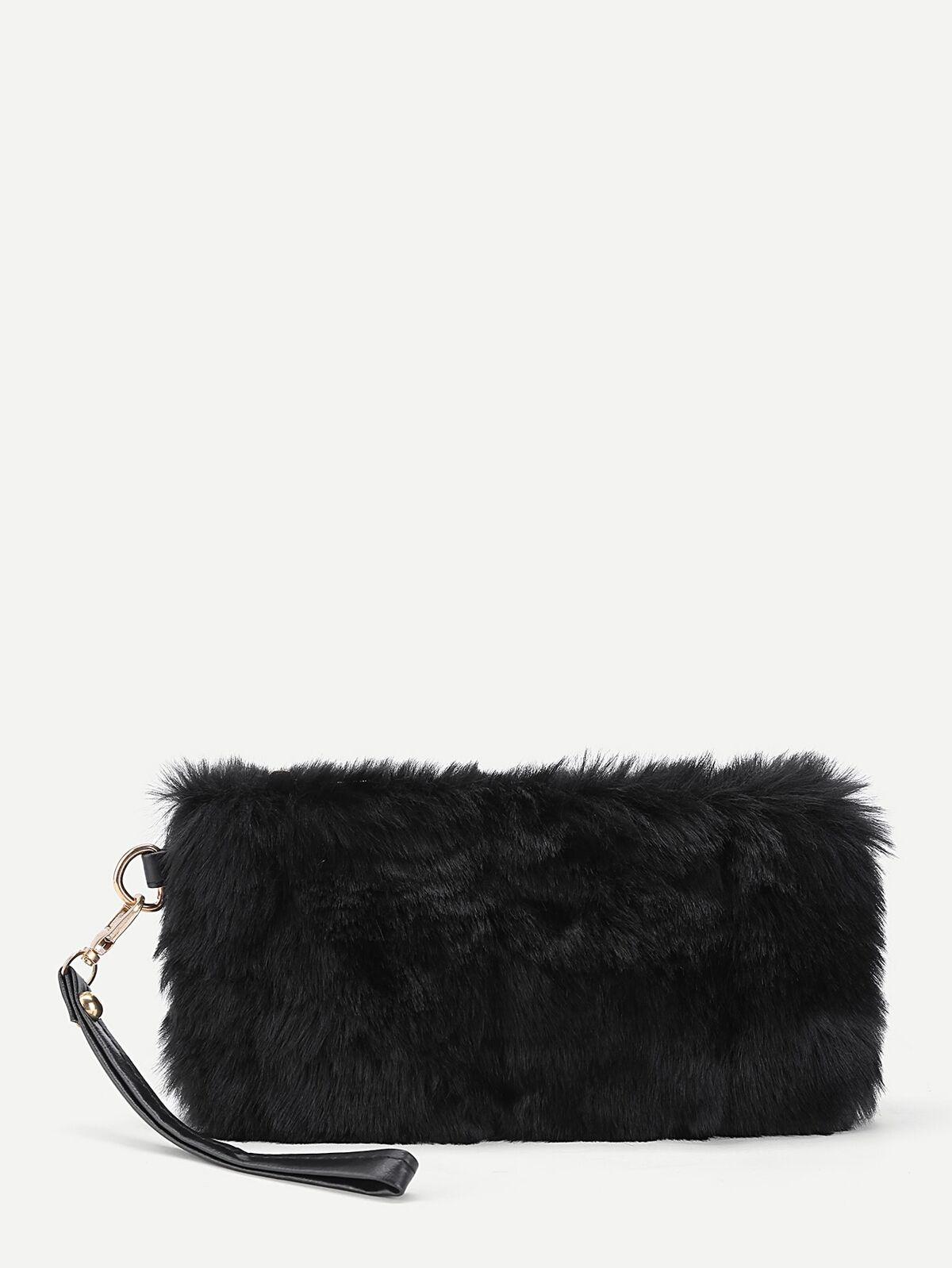 人造軟毛 設計 手拿包 手提包