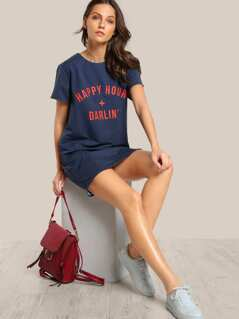Happy Hour + Darlin Dress DENIM