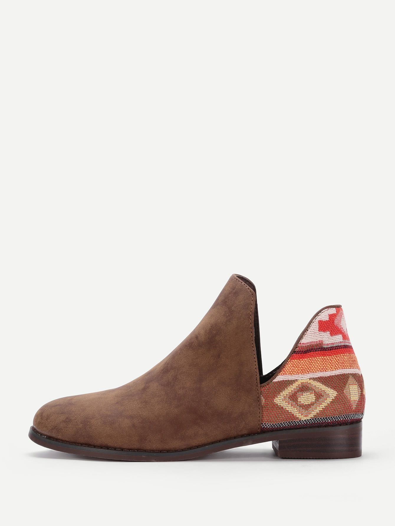 V Cut Chelsea Boots heeled chelsea boots