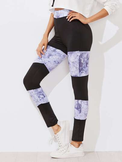 Leggings moulant