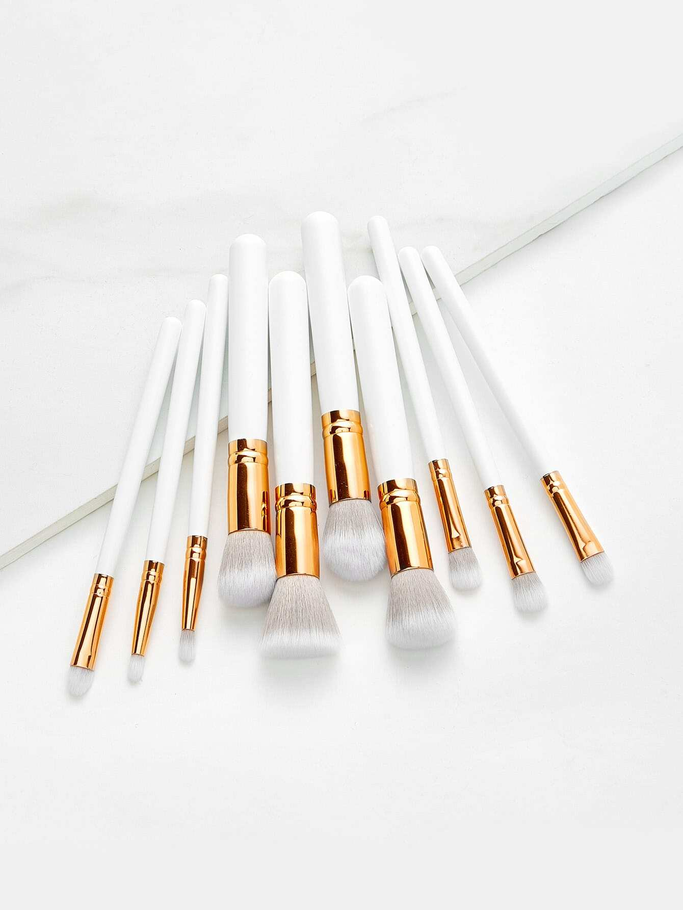 Image of Delicate Cosmetic Brush 10pcs