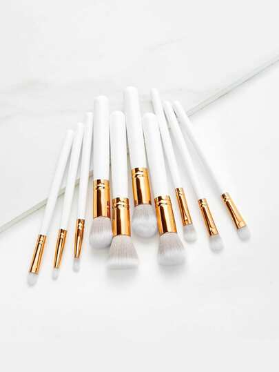 Delicate Cosmetic Brush 10pcs