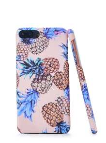 Pineapple Print iPhone Case