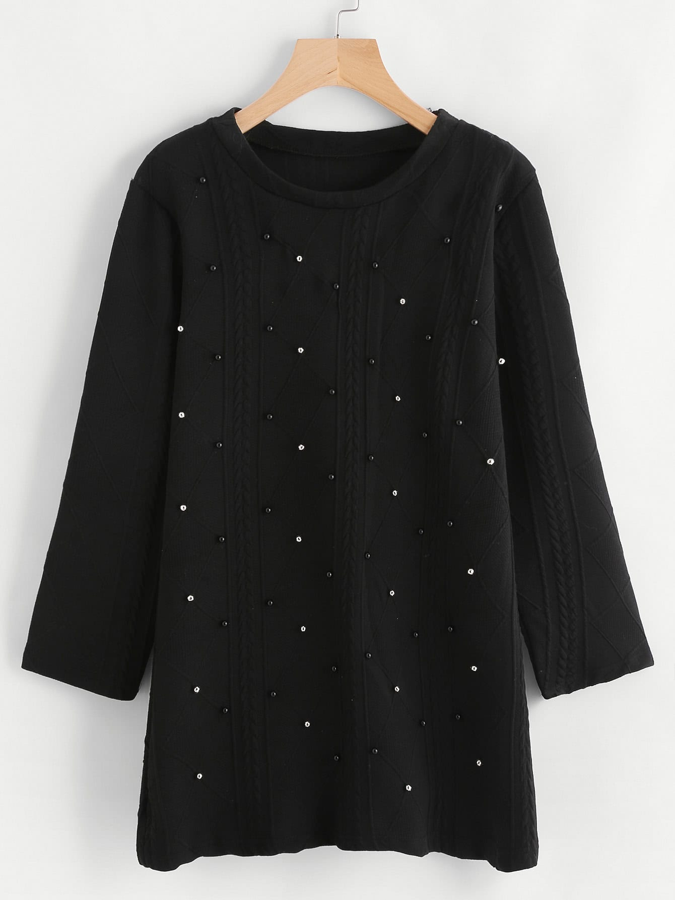 Studded Detail Sweater сервер dell poweredge r630 210 acxs 234