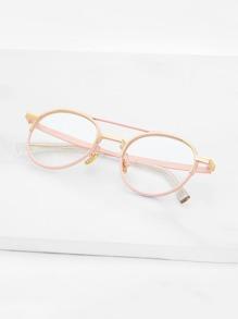 Double Bridge Glasses
