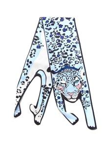 Écharpe en forme de léopard