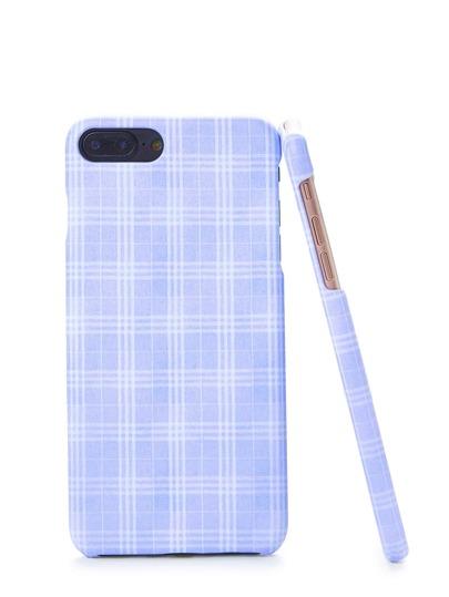 Gingham Print Iphone Case