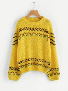 Lace Up Insert Jumper