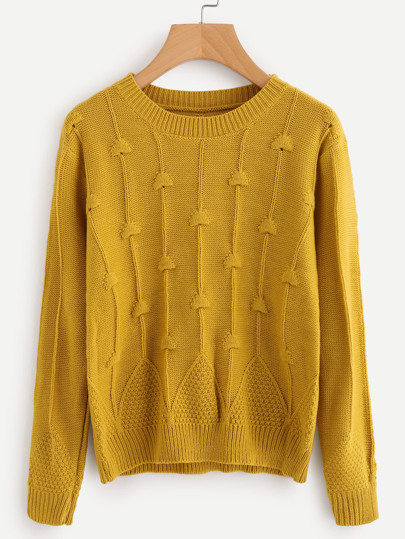 Cable Knit Chunky Jumper
