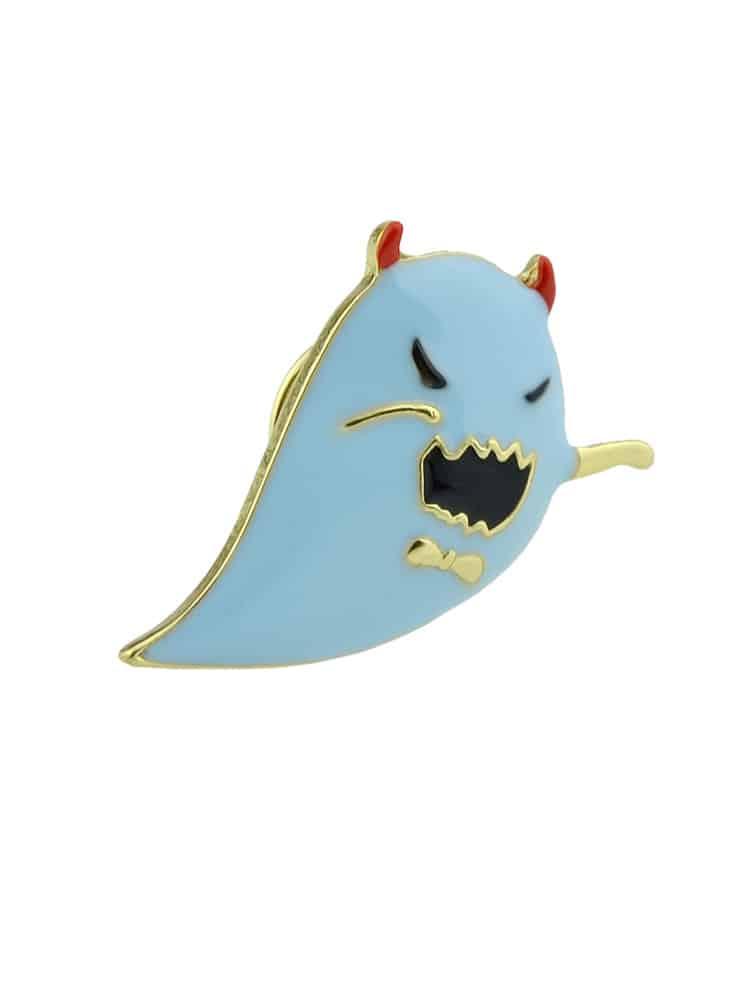 Хэллоуин Забавный Маленький Брошь Синий Призрак
