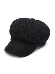 Tweed Bakerboy Cap