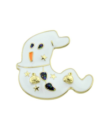 Halloween Funny lovely ghost brooch