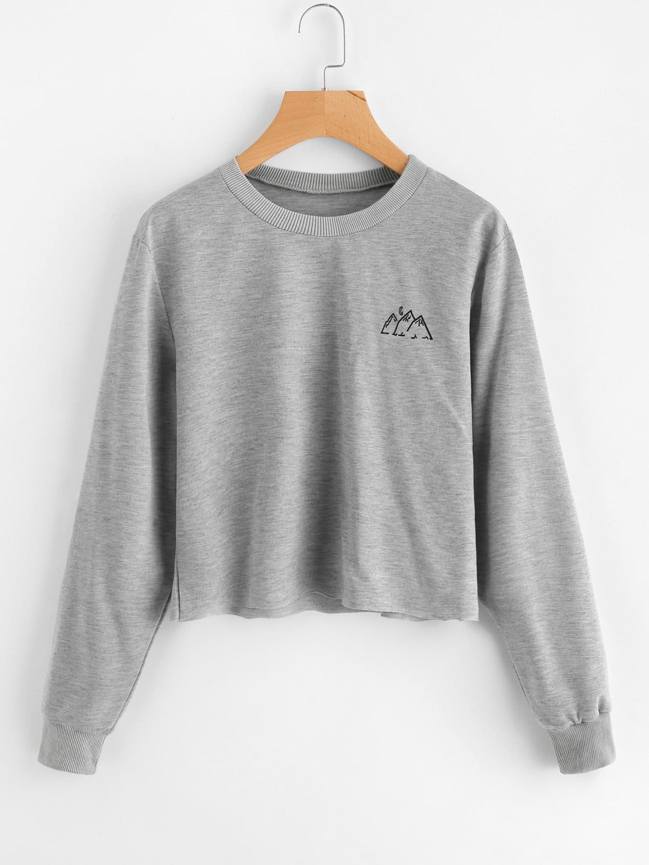 Graphic Print Sweatshirt graphic print fit