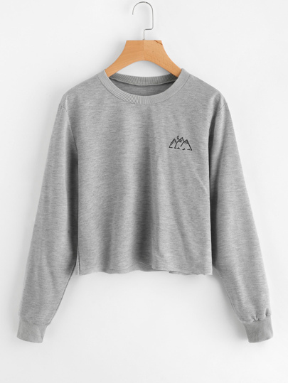 Sweat-shirt imprimé graphique
