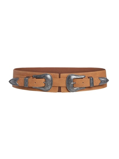 Double Buckle Elastic Belt