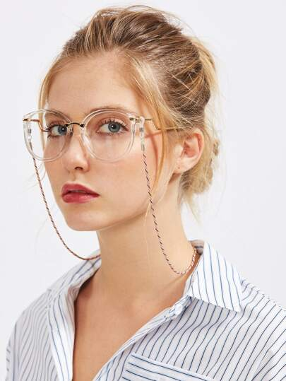 Three Color Glasses Chain