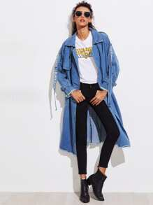 Cappotto di jeans