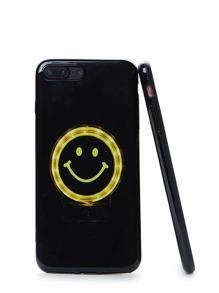 Cover per iphone con stampa di emoji
