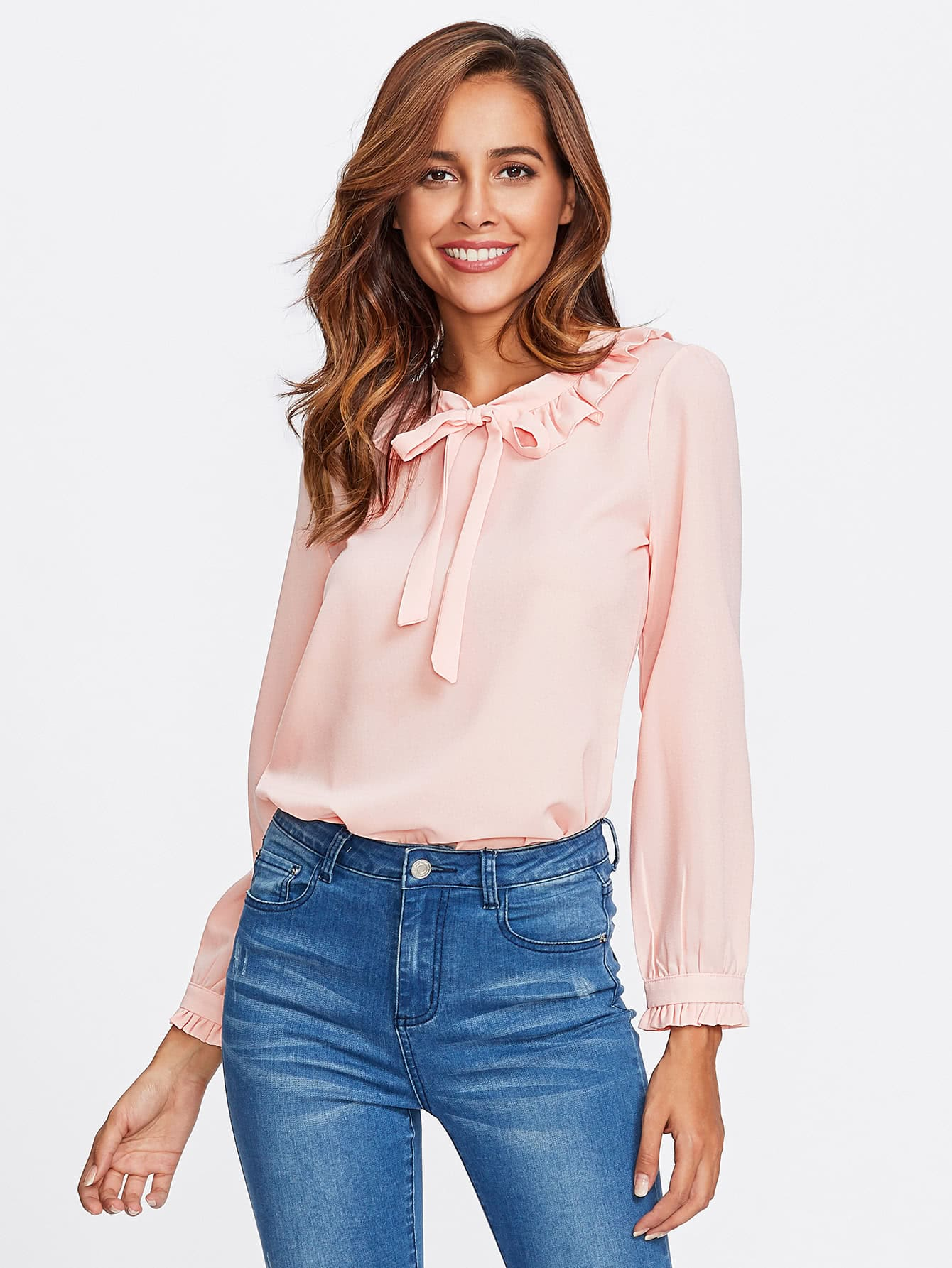 Shop for ruffle blouse at pc-ios.tk Free Shipping. Free Returns. All the time.