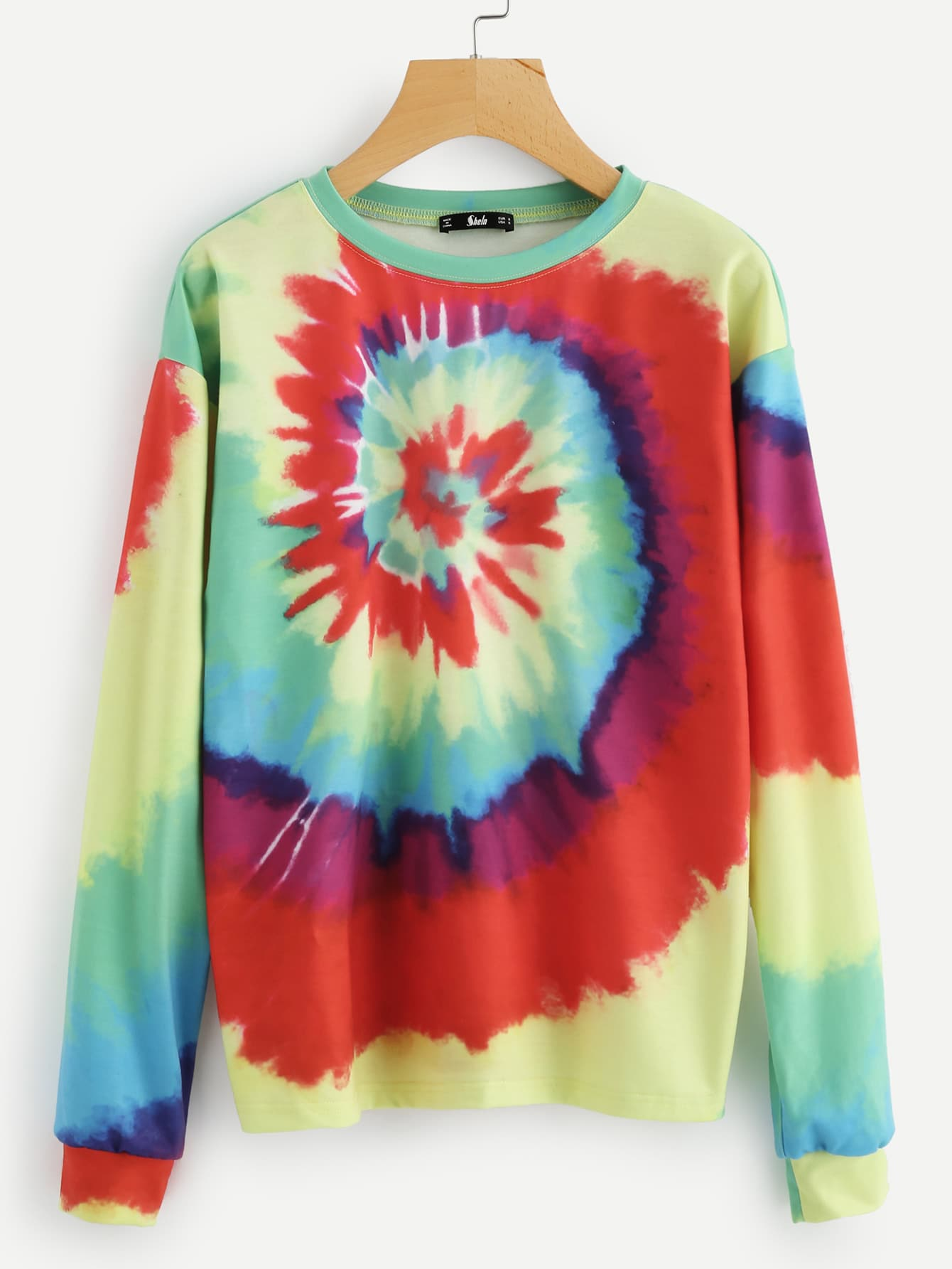 Spiral Tie Dye Sweatshirt