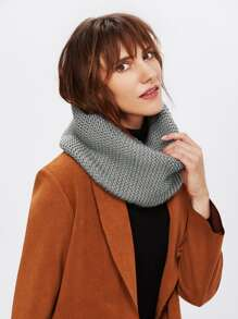 Knit Delicate Infinity Scarf