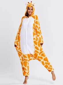 Drop Crotch Giraffe Onesie