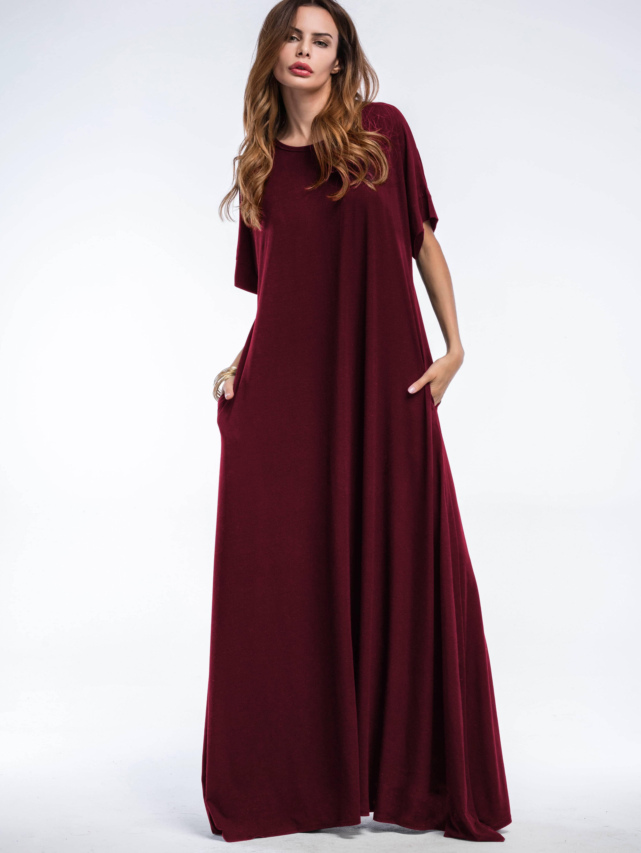 Hidden Pocket Side Tent Dress hidden pocket striped dress
