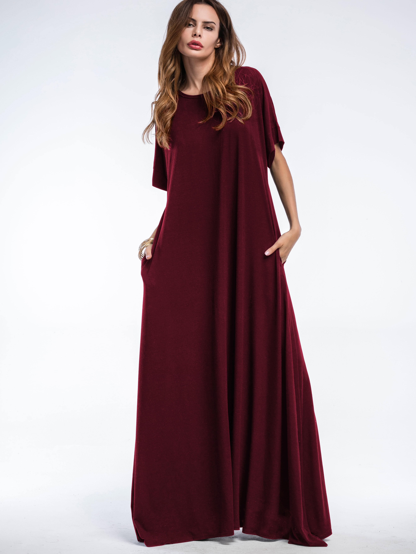 Hidden Pocket Side Tent Dress