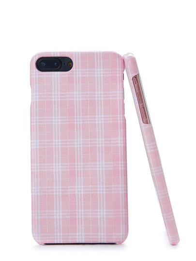 Coque d\'iPhone imprimée à carreaux